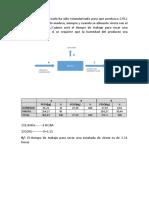 balance de materia sin reacion quimica