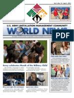 1 April 2011 IMCOM World News