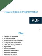Algorithm i Que Program Mati on 1