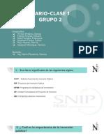 Cuestionario 1 - Grupo 2 - Presupuestos y Metrados