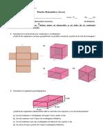 7mo - Prueba 2 - Áreas de Prismas (1)