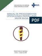 Manual POP Saude Bucal