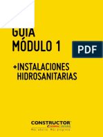 GUÍA DE APRENDIZAJE MODULO 1 HIDROSANITARIAS