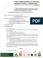 Decision Publication Liste Clubs Des Championnats Departementaux 20 21 Appeles a Prendre Part Au Processus Electoral 1