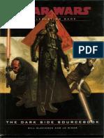 (2) Star Wars D20 RPG - The Dark Side Sourcebook