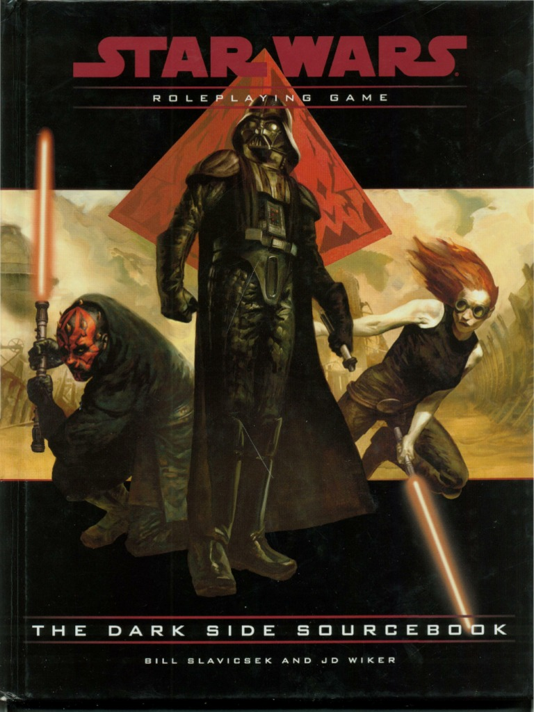 2) Star Wars D20 RPG - The Dark Side Sourcebook   Palpatine