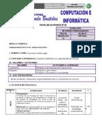 FICHA DE ACTIVIDAD 40-PPT