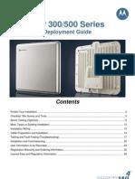 Motorola PTP300 Series Deployment Guide