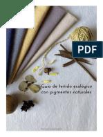 Guía de teñido ecológico con pigmentos naturales 2