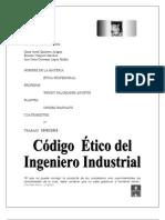 CÓDIGO ÉTICO DEL ING. INDUSTRIAL