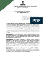 PORTARIA Nº 3324-2021 - ESTABELECE DIRETRIZES PARA A RETOMADA DAS ATIVIDADES EDUCACIONAIS PRESENCIAIS NAS UNIDADES DE ENSINO