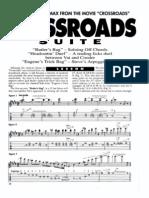 (Guitar Tab) Steve Vai - Crossroads Suite