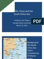 Thayer ASEAN, China and the South China Sea