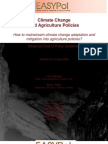 How to Mainstream Climate Change Adaptation for Agriculture