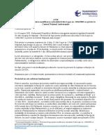 TI Moldova Aviz La Proiectul de Lege CNA