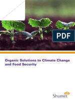 Organic Solutions to Climate Change and Food Security