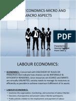 LABOUR ECONOMICS-MICRO AND MACRO ASPECTS