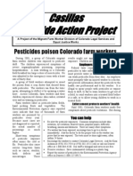 Pesticides poison Colorado farm workers