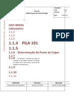 PILA_101_PROC_PONTO_DE_FULGOR