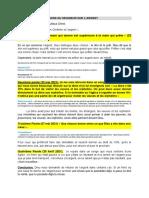 PAROLES ET INSTRUCTIONS DU SEIGNEUR SUR L ARGENT
