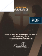 Apostila 3 - Finança Abundante e Oração Perseverante