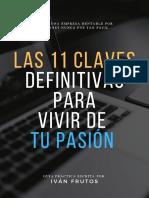 Las 11 Claves Definitivas Para Vivir de Tu Pasiòn (1)