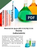 FEI - Apostila Quimica Geral - Laboratorio 2009