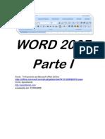 WORD 2007 - Parte 1