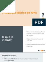 Aula 25 - Integração Básica de APIs