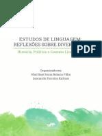 UFF Estudos de Linguagem Reflexoes Sobre Diversidade. Historia Politica e Contato Linguistico
