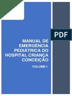 Manual de emergências pediatrica. Hospital Conceição. Porto  Alegre 2020.