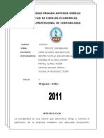 COstos I    V CICLO - GRUPO Nº1 - TIPOS DE CONTABILIDAD