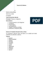 Analisis de Las Obras Teatrales Luis Mario Lainez