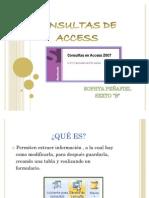 Consultas de Access