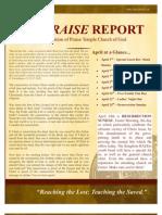 The Praise Report April 2011
