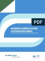 Instrumentos Economicos Aplicados a Gestao de Recursos Hidricos