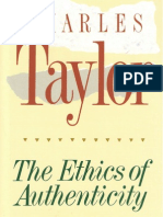 Charles Taylor - The Ethics of Authenticty