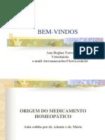 ORIGEM DO MEDICAMENTO