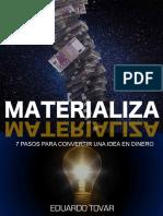 Materializa_ 7 Estrategias para - Eduardo Tovar Linares