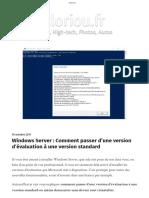 Windows Server _ Comment passer d'une version d'évaluation à une version standard - cloriou.fr