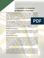 MATERIAL DEL CURSO ASESORÍA PARA LA APREHENSIÓN DE PROCESOS TECNOLÓGICOS - UNIDADES 1 A 4