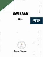 Acario Cotapos - Semiramis [Ópera]