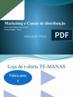 Loja de T-Shirts Te- Manas