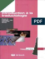 Introduction à la traductologie - Penser la traduction hier, aujourdhui, demain by Guidère, Mathieu (z-lib.org)