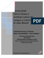 INVITACION ANTOLOGIA BICENTENARIO PRORROGA FECHA DE VENCIMIENTO