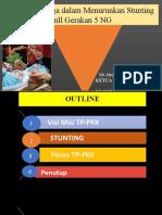 PKK Dalam Pencegahan Stunting_Dinkes_030821