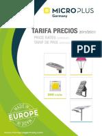 Microplus Germany Catálogo y Precios  2020