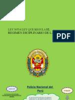 LEY DE REGIMEN DISCIPLINARIO