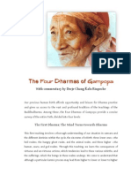 Four-Dharmas-of-Gampopa_Kalu-Rinpoché