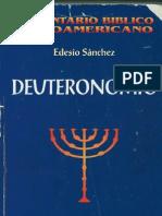 Sanchez Cetina, Edesio Deuterononio